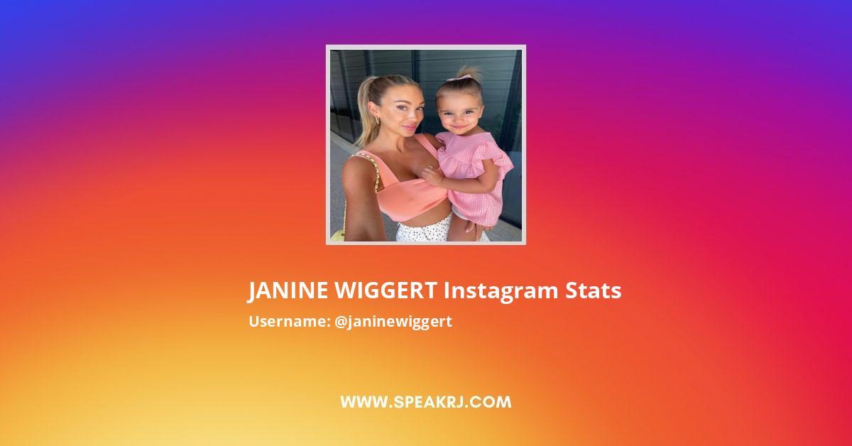 JANINE WIGGERT Instagram Stats