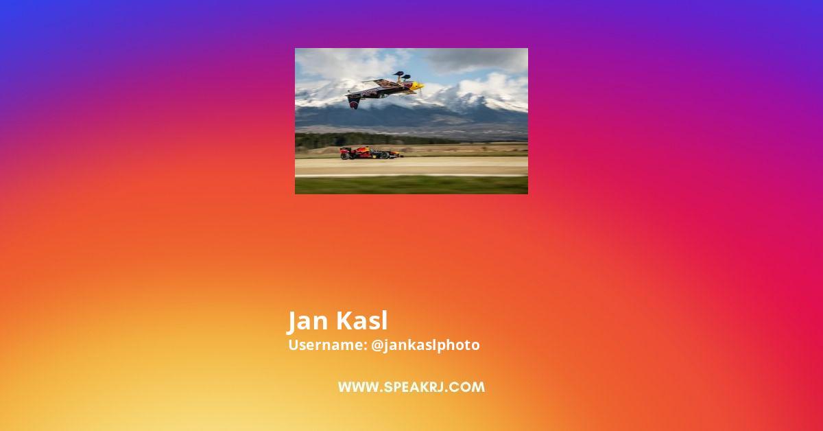 Jan Kasl Instagram Stats
