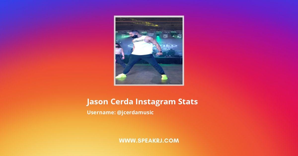 Jason Cerda Instagram Stats
