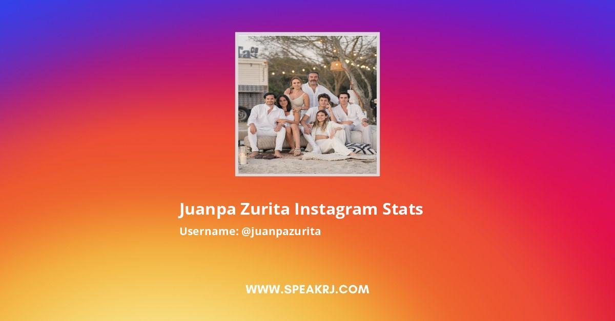 Juanpa Zurita Instagram Stats