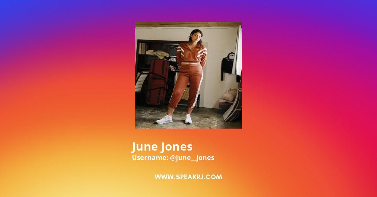 June Jones Instagram Stats