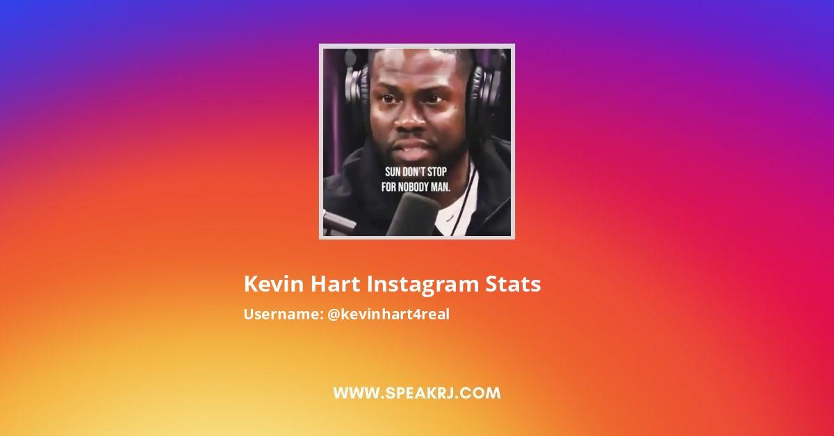 Kevin Hart Instagram Stats