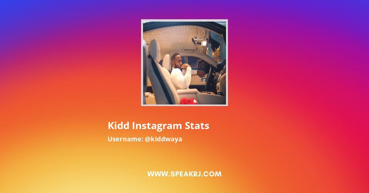 Kidd Instagram Stats