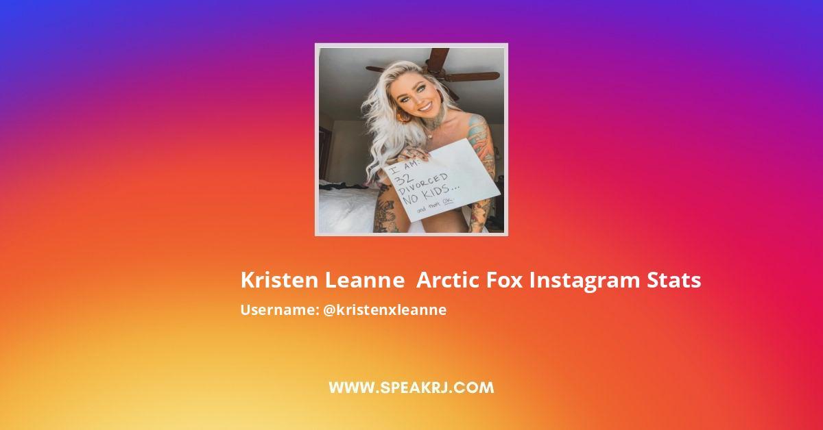 Kristenxleanne Instagram Stats