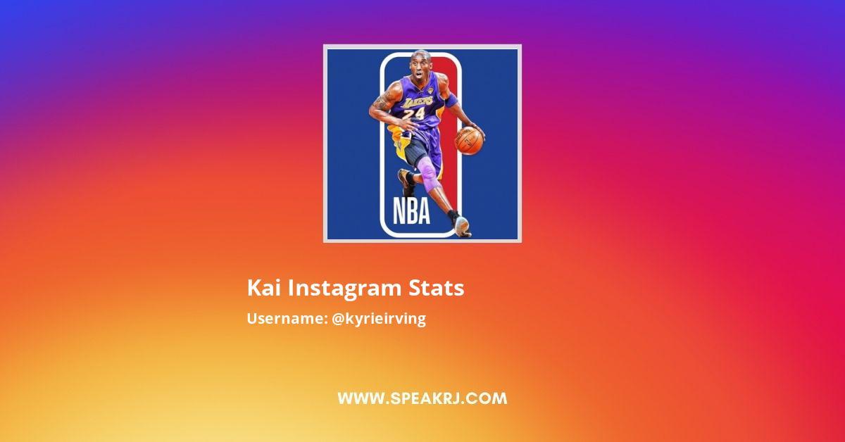 Kyrieirving Instagram Stats