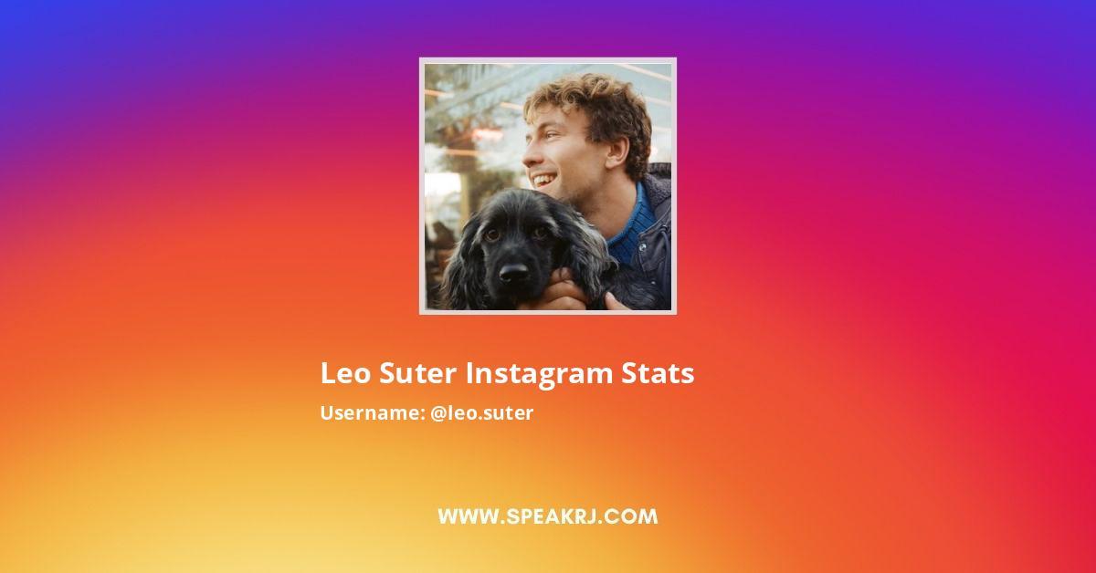 Leo Suter Instagram Stats