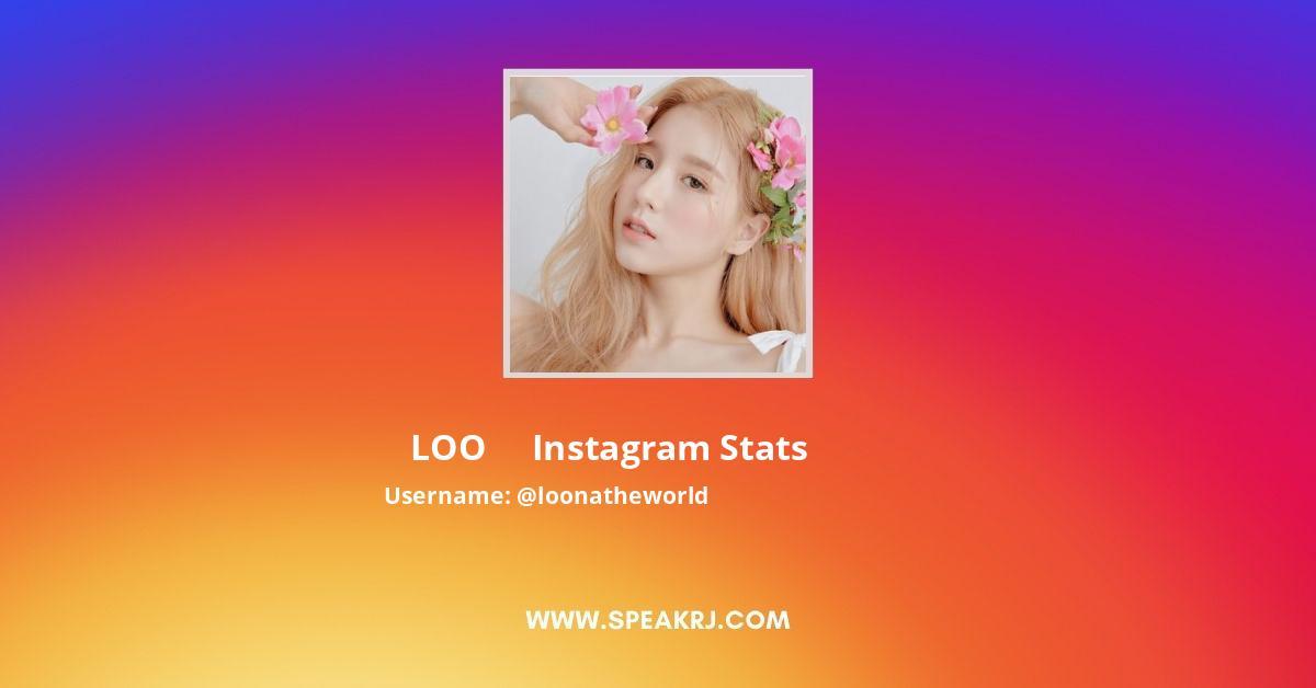 Loonatheworld Instagram Stats