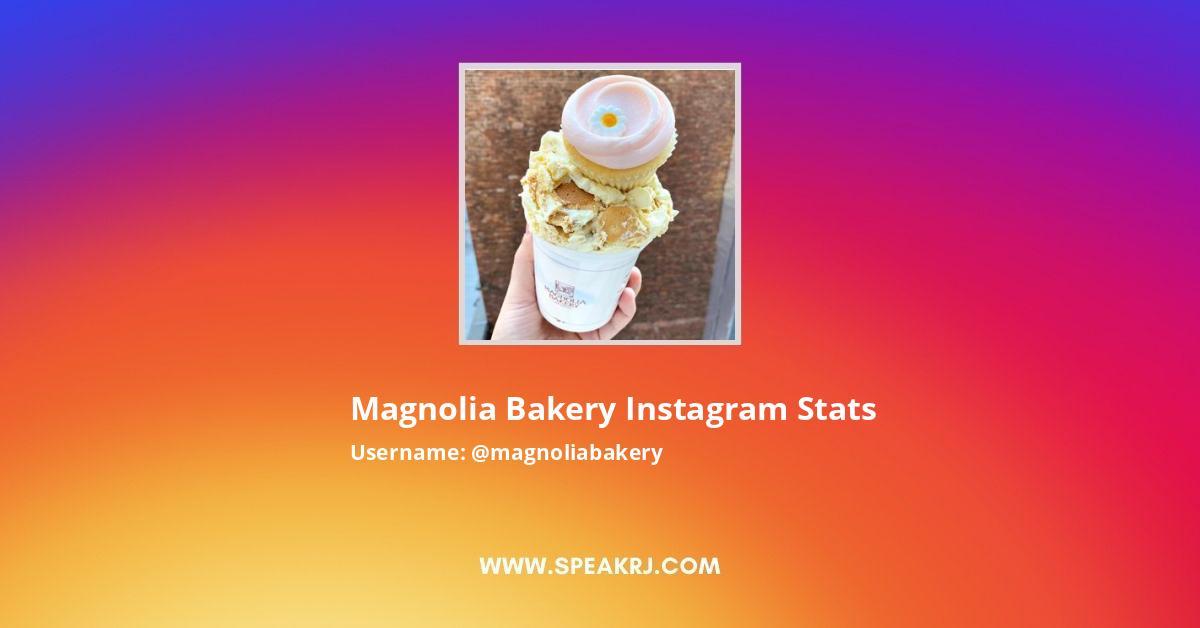 Magnolia Bakery Instagram Stats