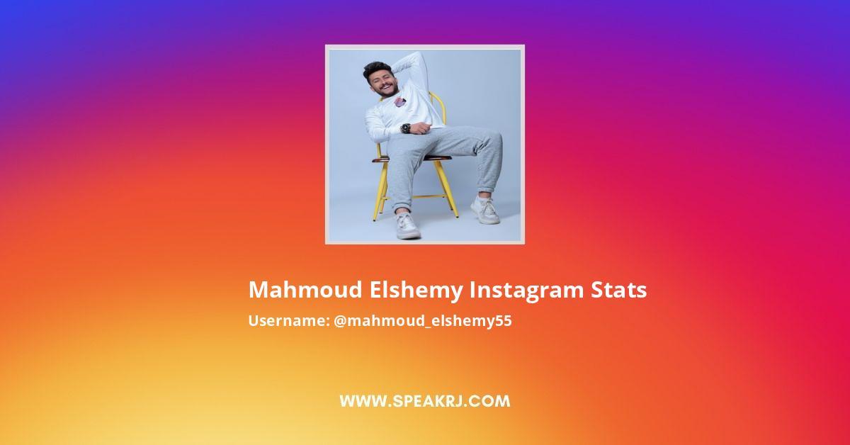 Mahmoud Elshemy Instagram Stats