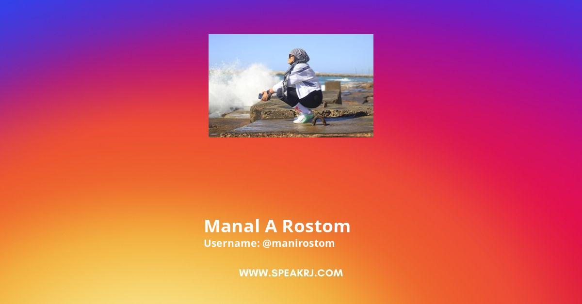 Manal A Rostom Instagram Stats