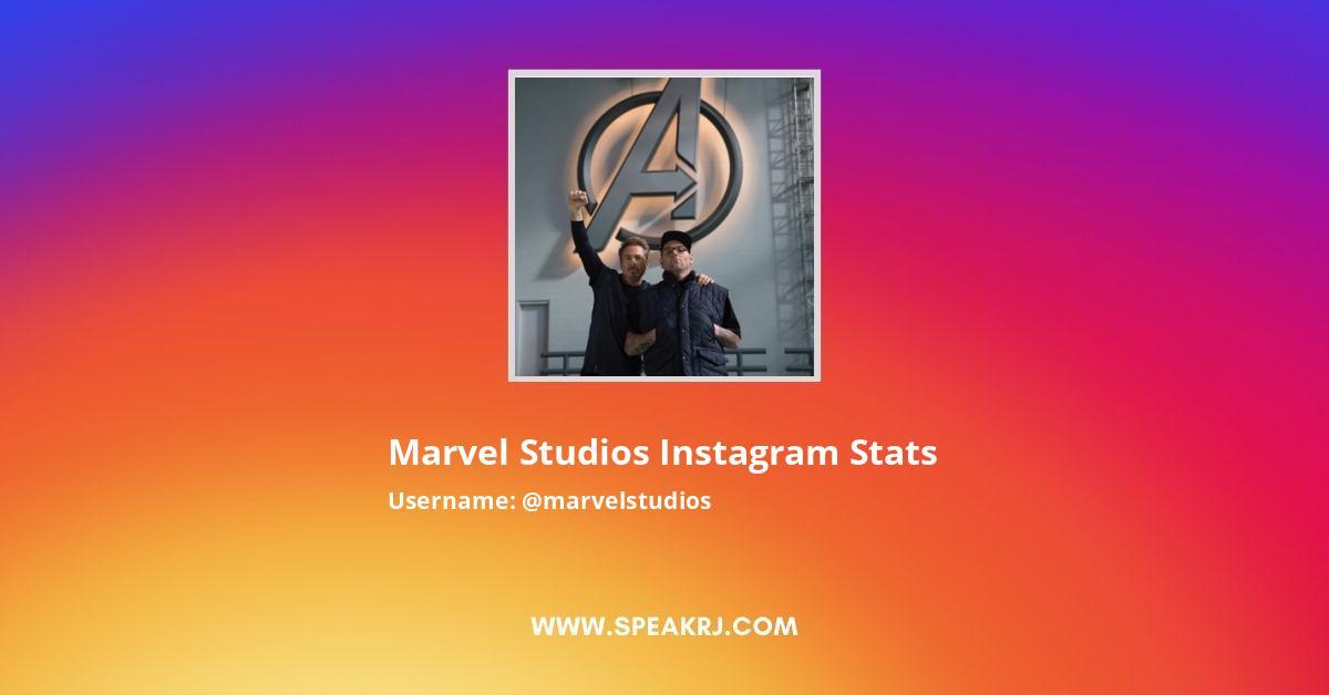 Marvel Studios Instagram Stats