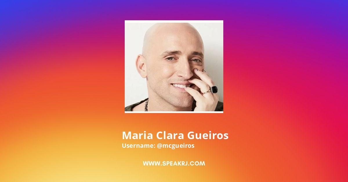 Maria Clara Gueiros Instagram Stats