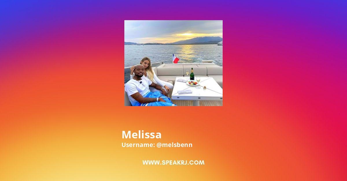 Melissa Instagram Stats