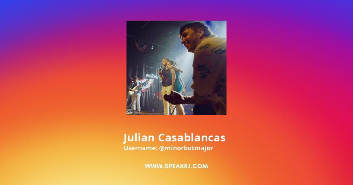 Julian Casablancas Instagram Stats