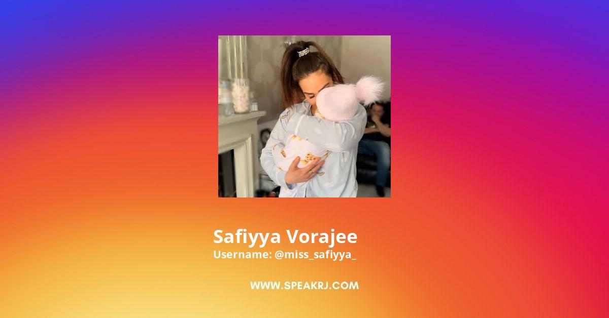 Safiyya Vorajee Instagram Stats