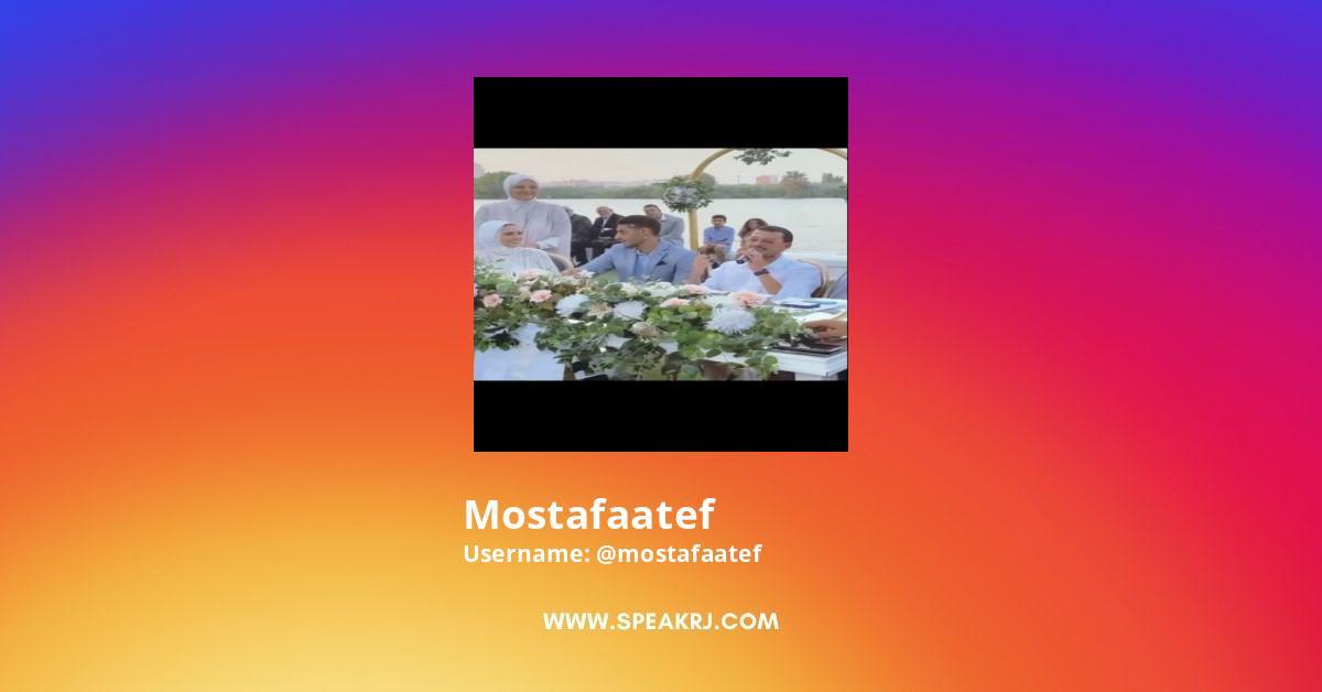 Mostafaatef Instagram Stats