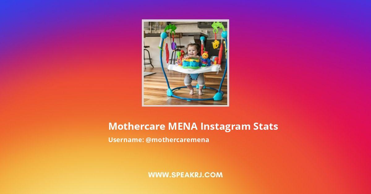 Mothercare MENA Instagram Stats