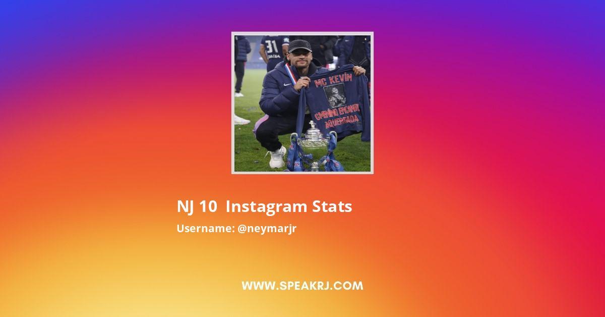 Neymarjr Instagram Stats