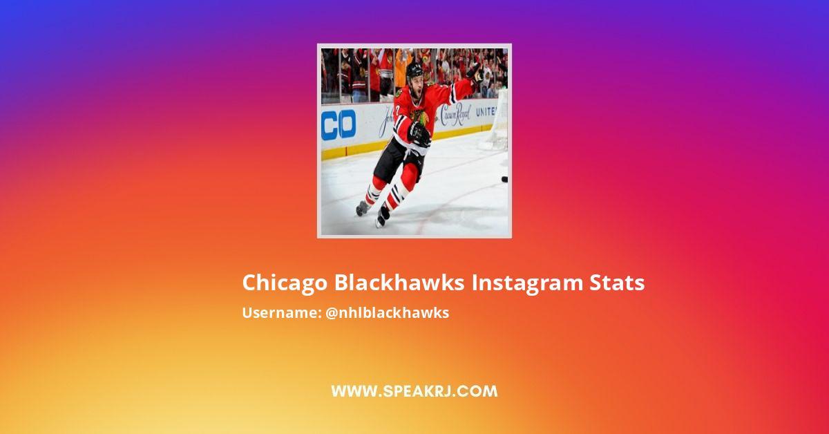 Chicago Blackhawks Instagram Stats