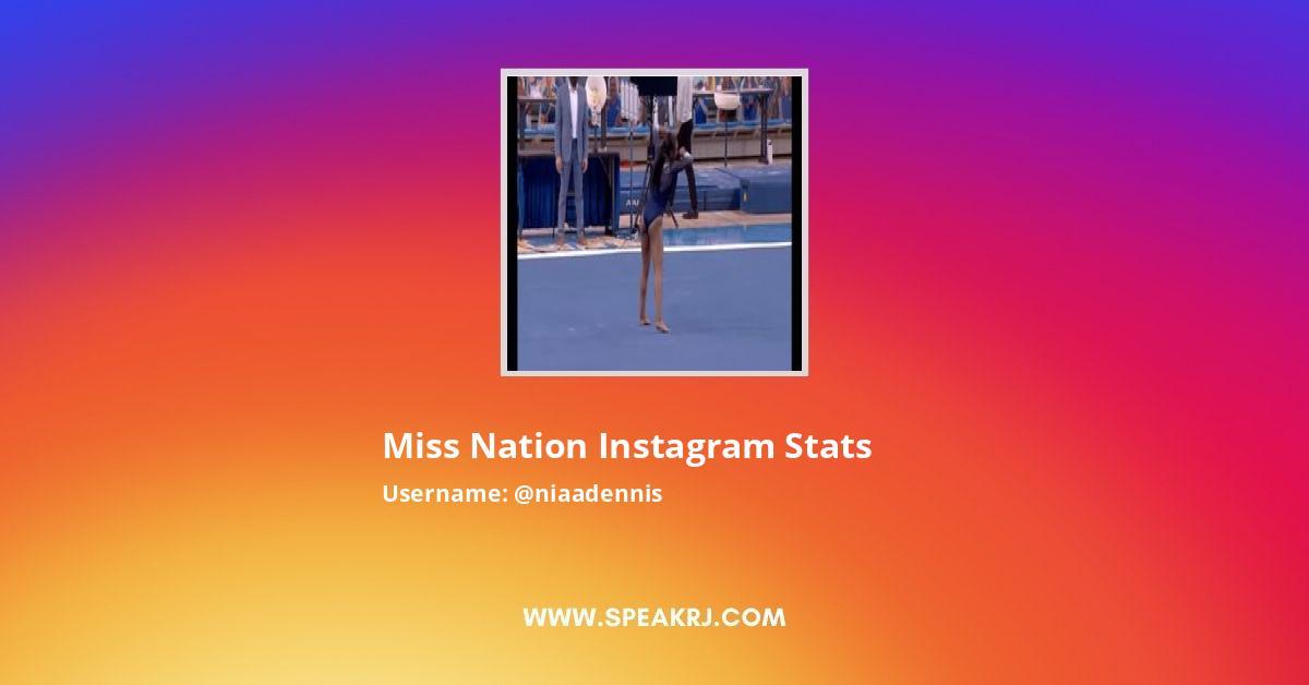 Niaadennis Instagram Stats