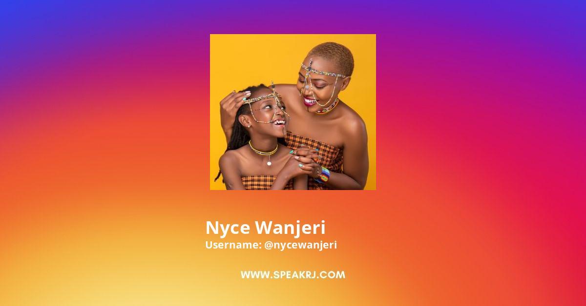 Nyce Wanjeri Instagram Stats