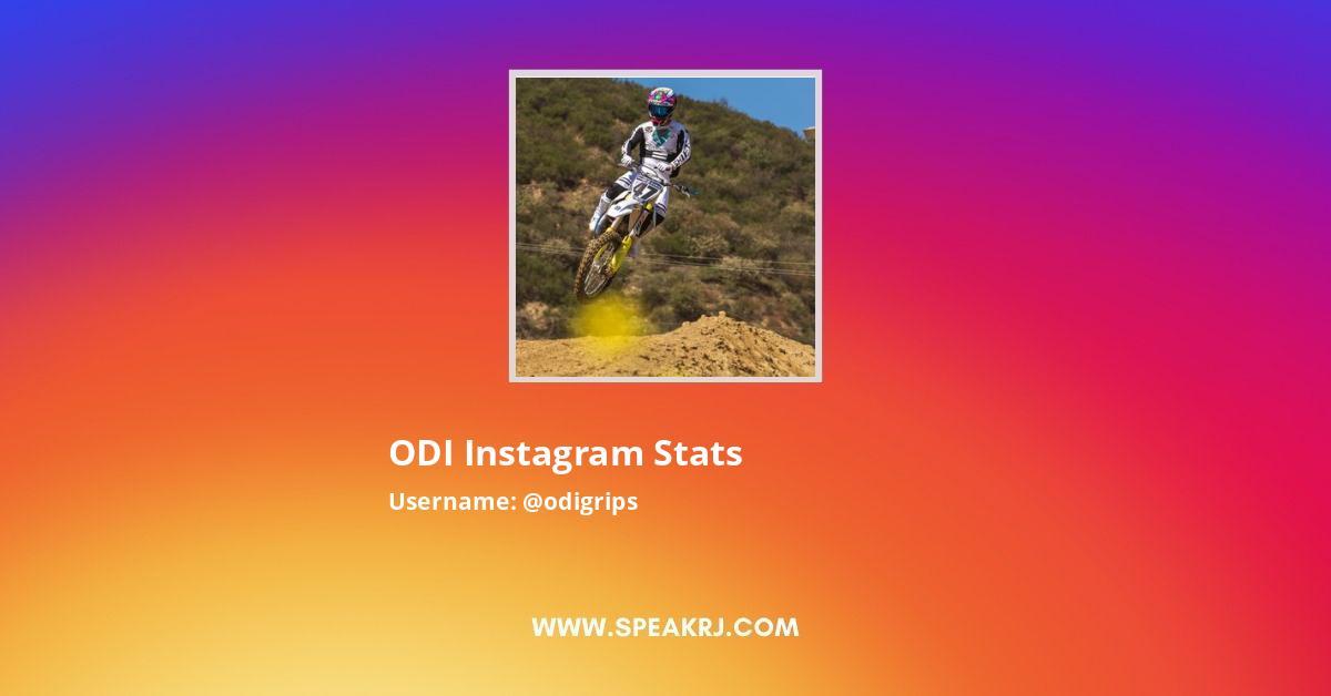 ODI Instagram Stats