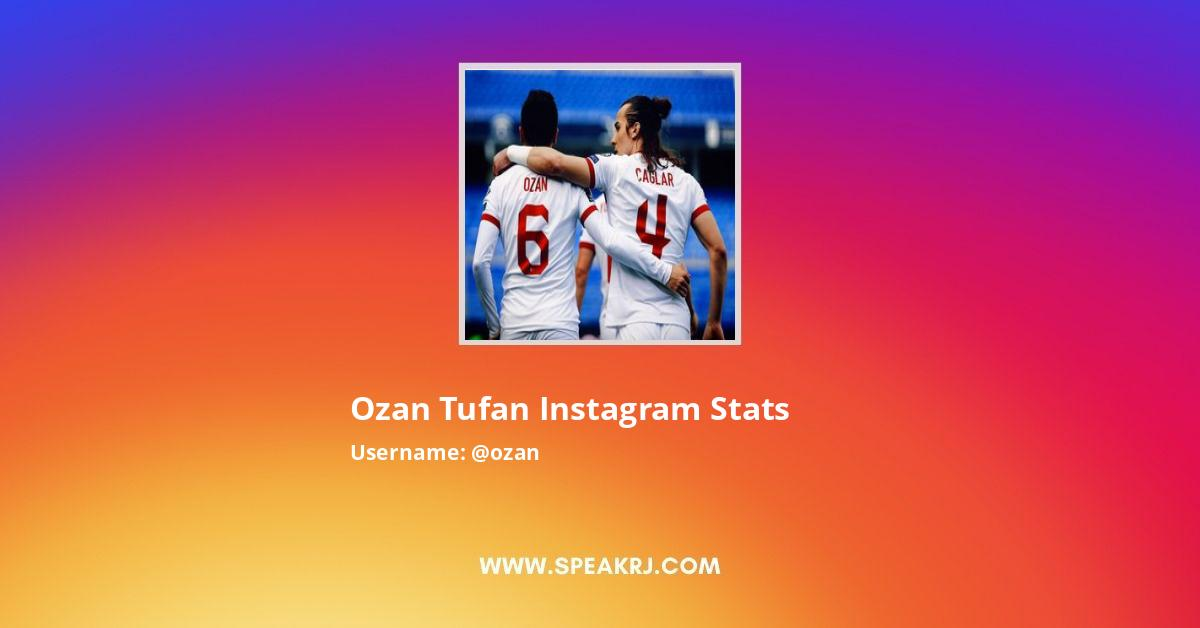 Ozan Tufan Instagram Stats