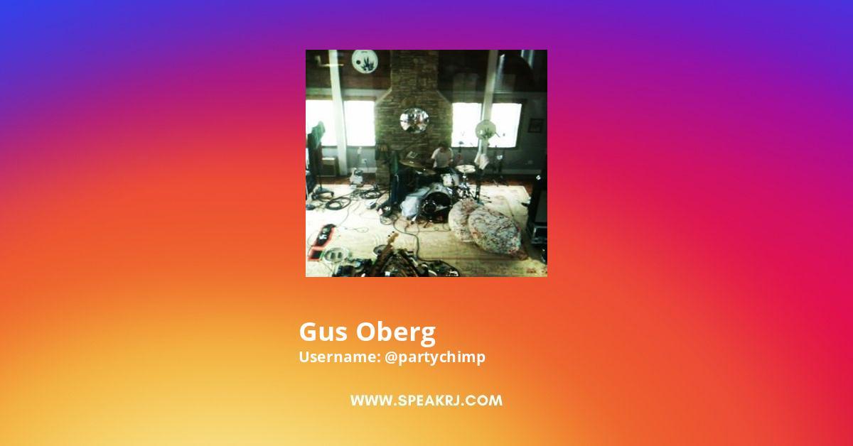 Gus Oberg Instagram Stats