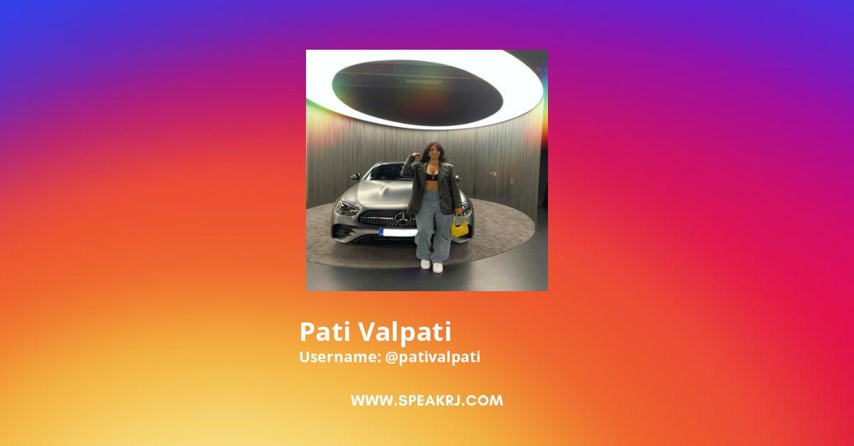 Pati Valpati Instagram Stats