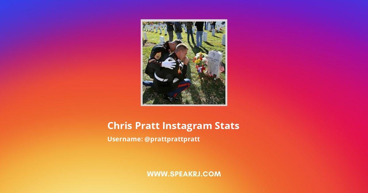 chris pratt Instagram Stats