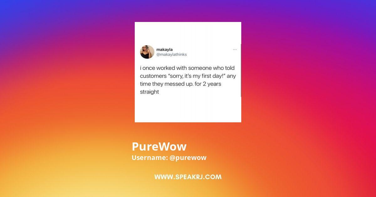 PureWow Instagram Stats