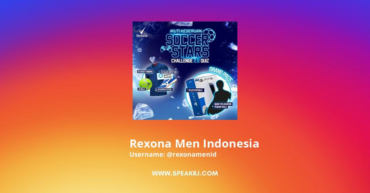 Rexona Men Indonesia Instagram Stats