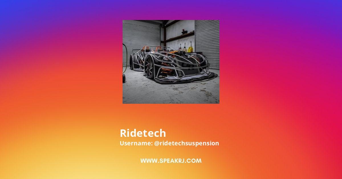 Ridetech Instagram Stats