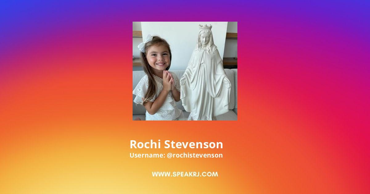 Rochi Stevenson Instagram Stats