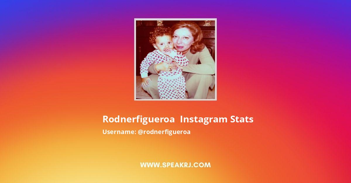 Rodnerfigueroa Instagram Stats