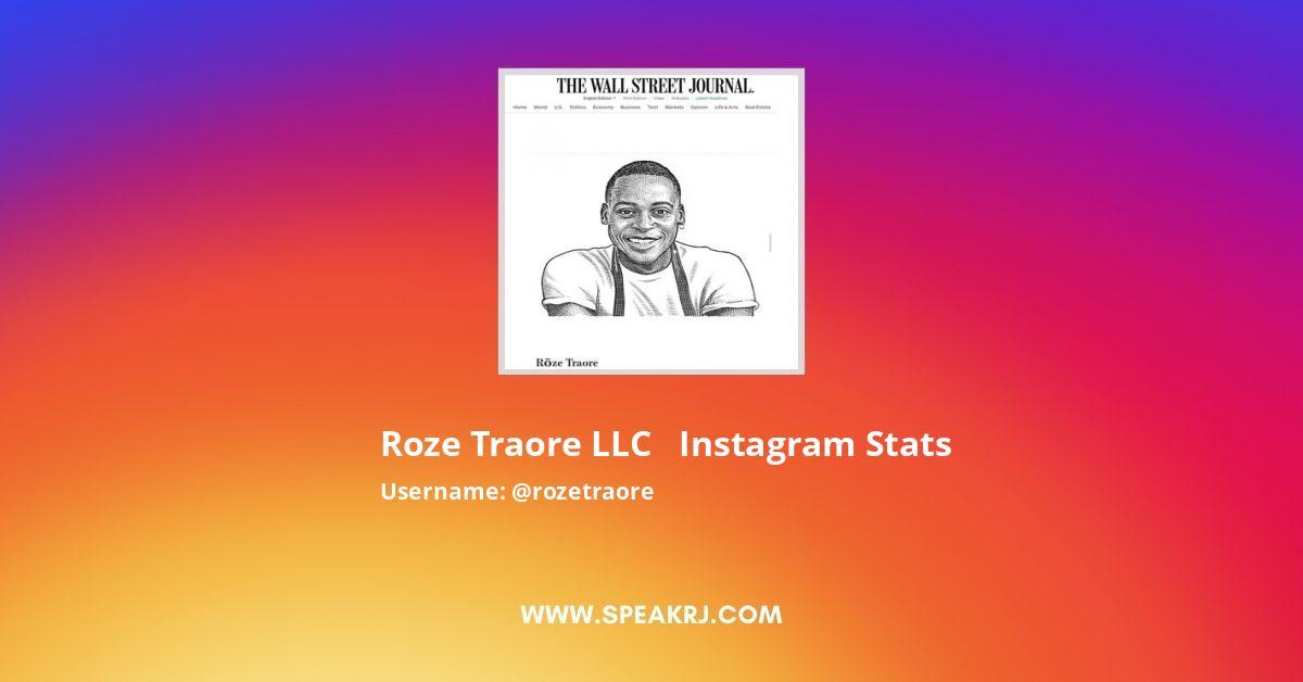 Rozetraore Instagram Stats