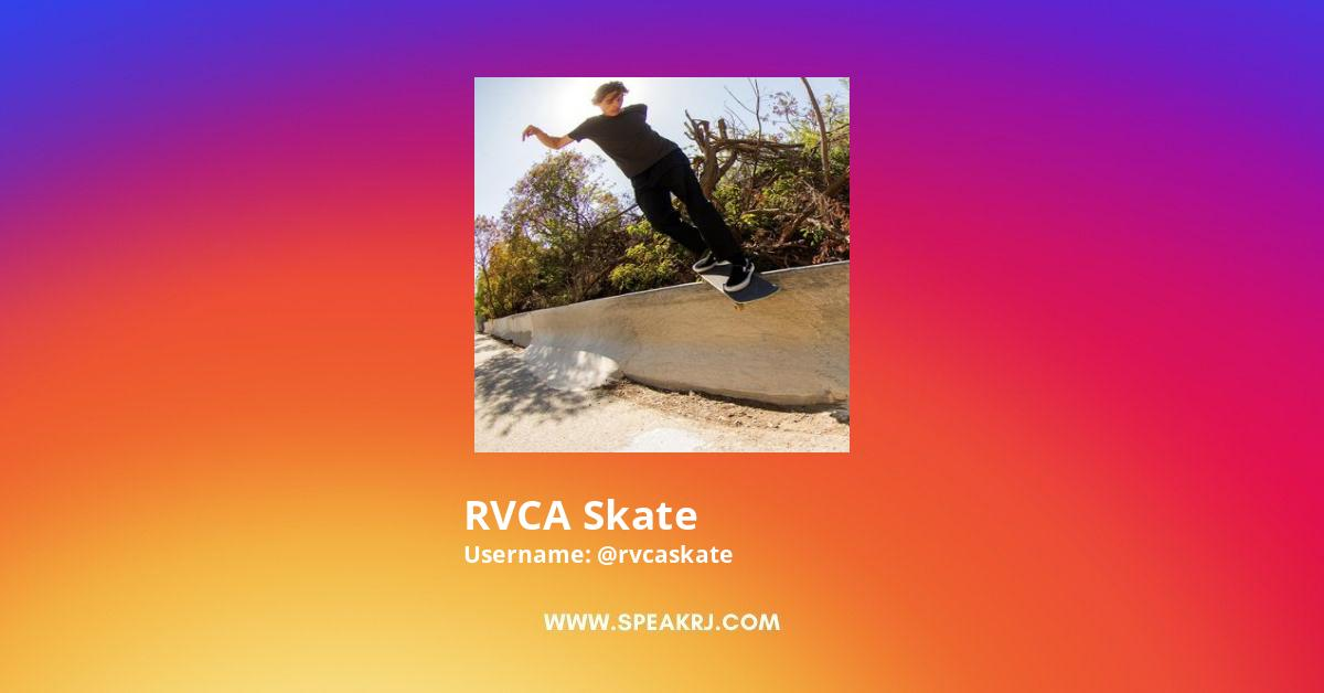 RVCA Skate Instagram Stats