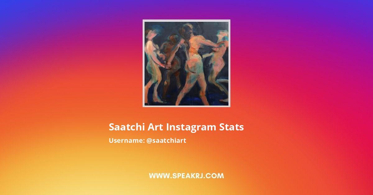 Saatchi Art Instagram Stats
