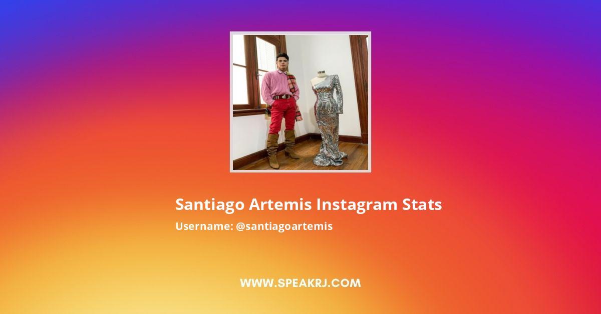 Santiago Artemis Instagram Stats
