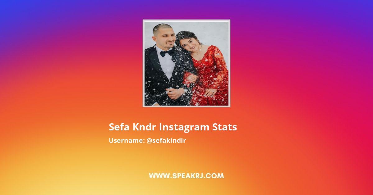 Sefakindir Instagram Stats
