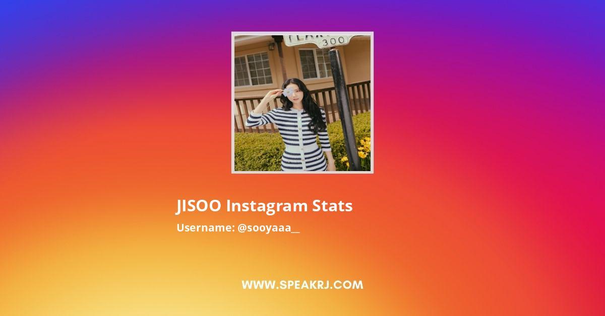 Sooyaaa__ Instagram Stats