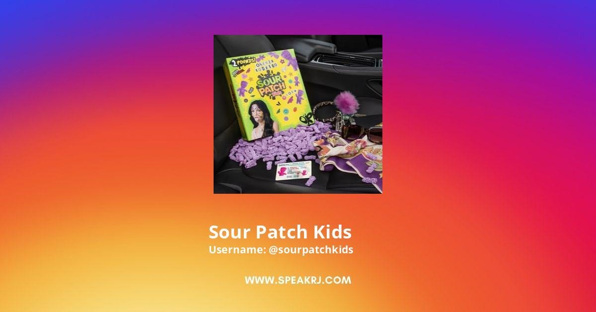 Sour Patch Kids Instagram Stats