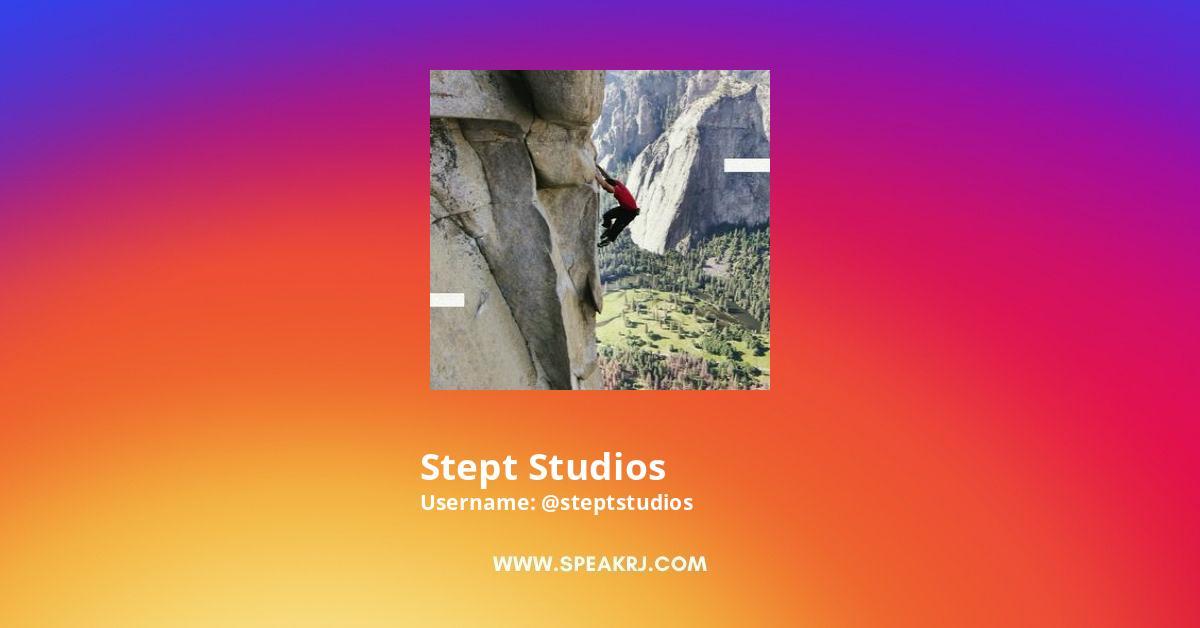 Stept Studios Instagram Stats