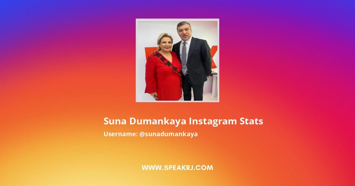 Suna Dumankaya Instagram Stats