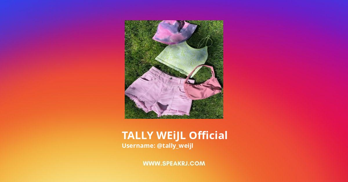 TALLY WEiJL Official Instagram Stats