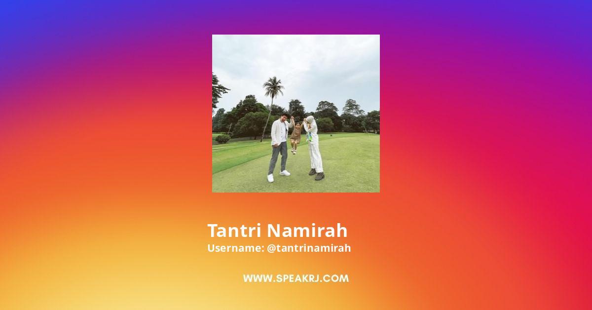 Tantri Namirah Instagram Stats