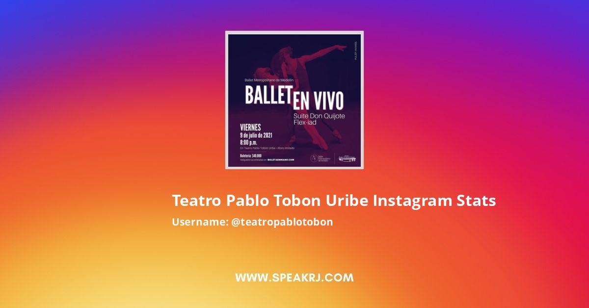 Teatropablotobon Instagram Stats