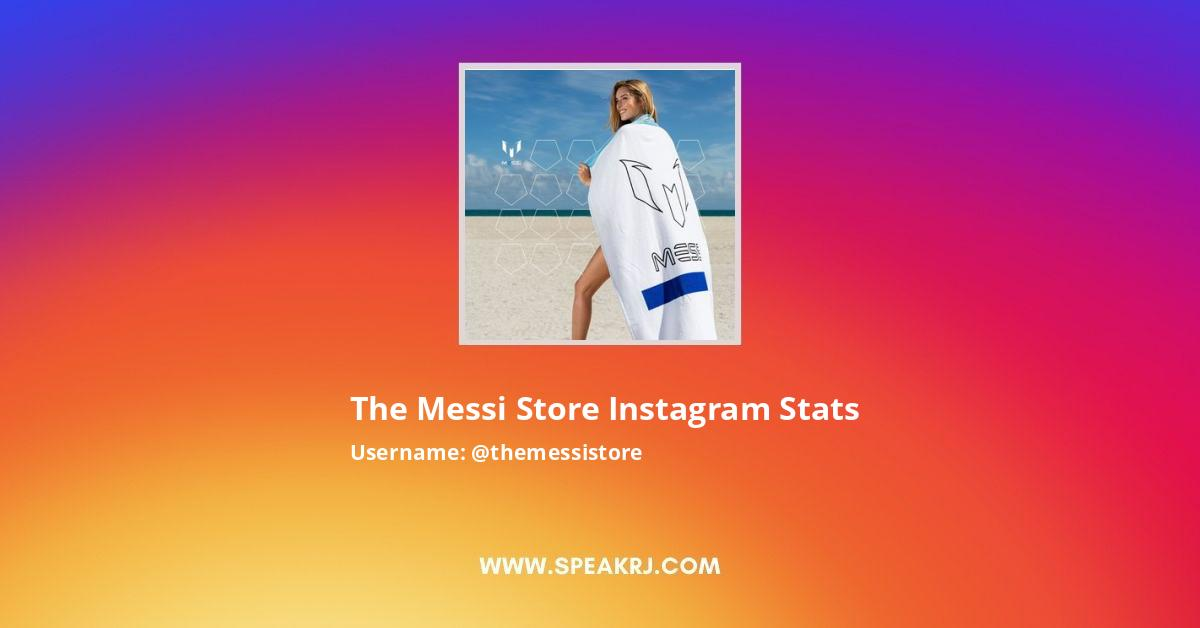 The Messi Store Instagram Stats
