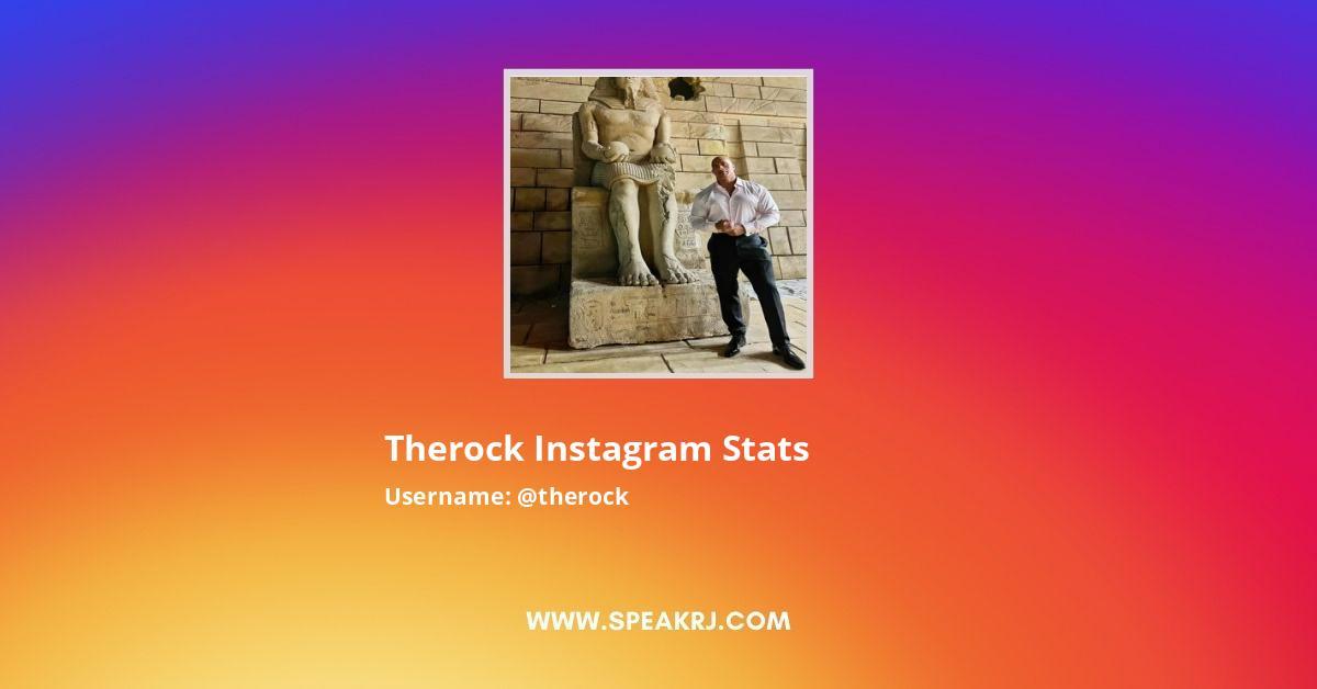 therock Instagram Stats