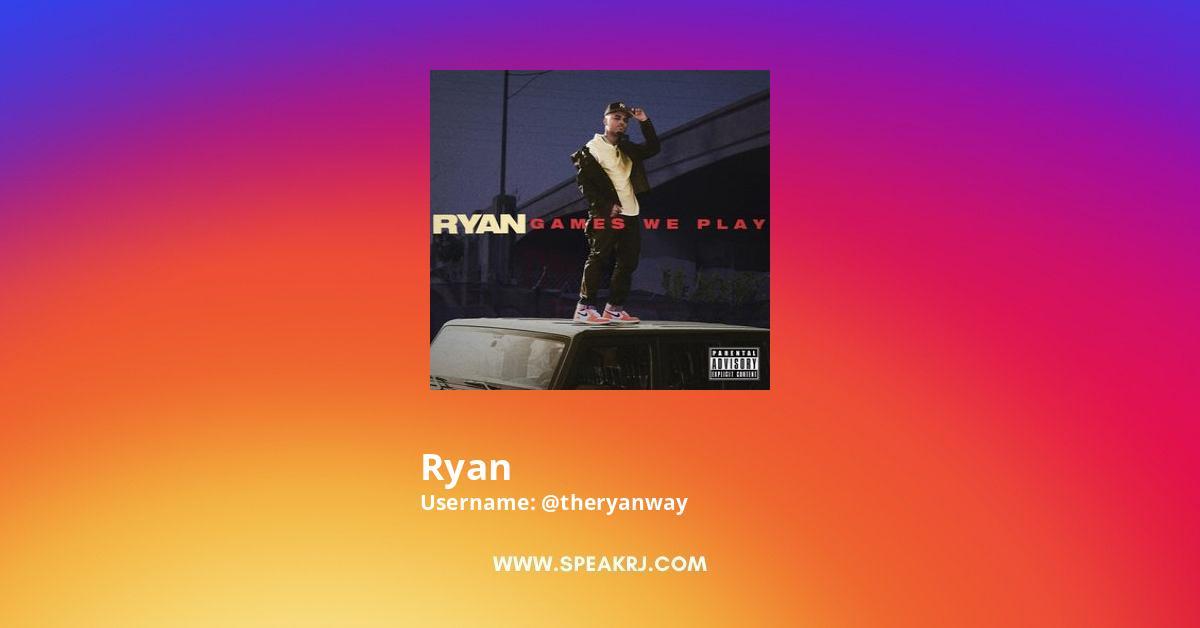 Ryan Instagram Stats